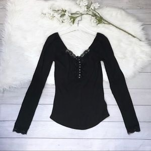 [Free People] NWT To The West Tee